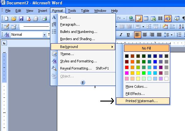 watermark word 2003