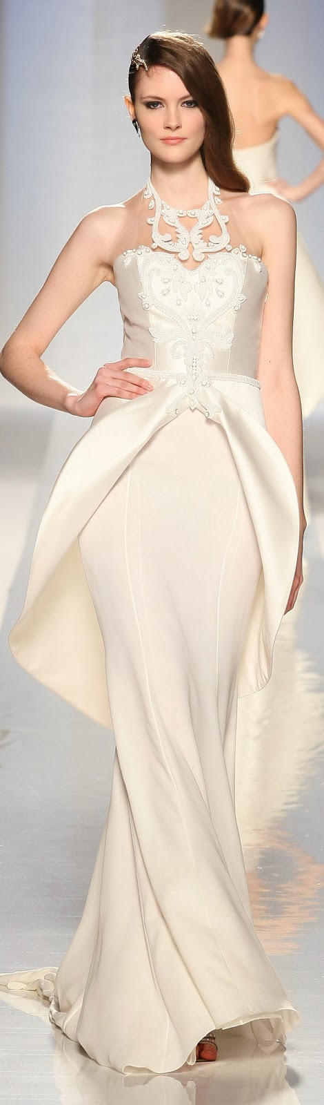 Gorgeous White Long Dress, USA Fashion 2013