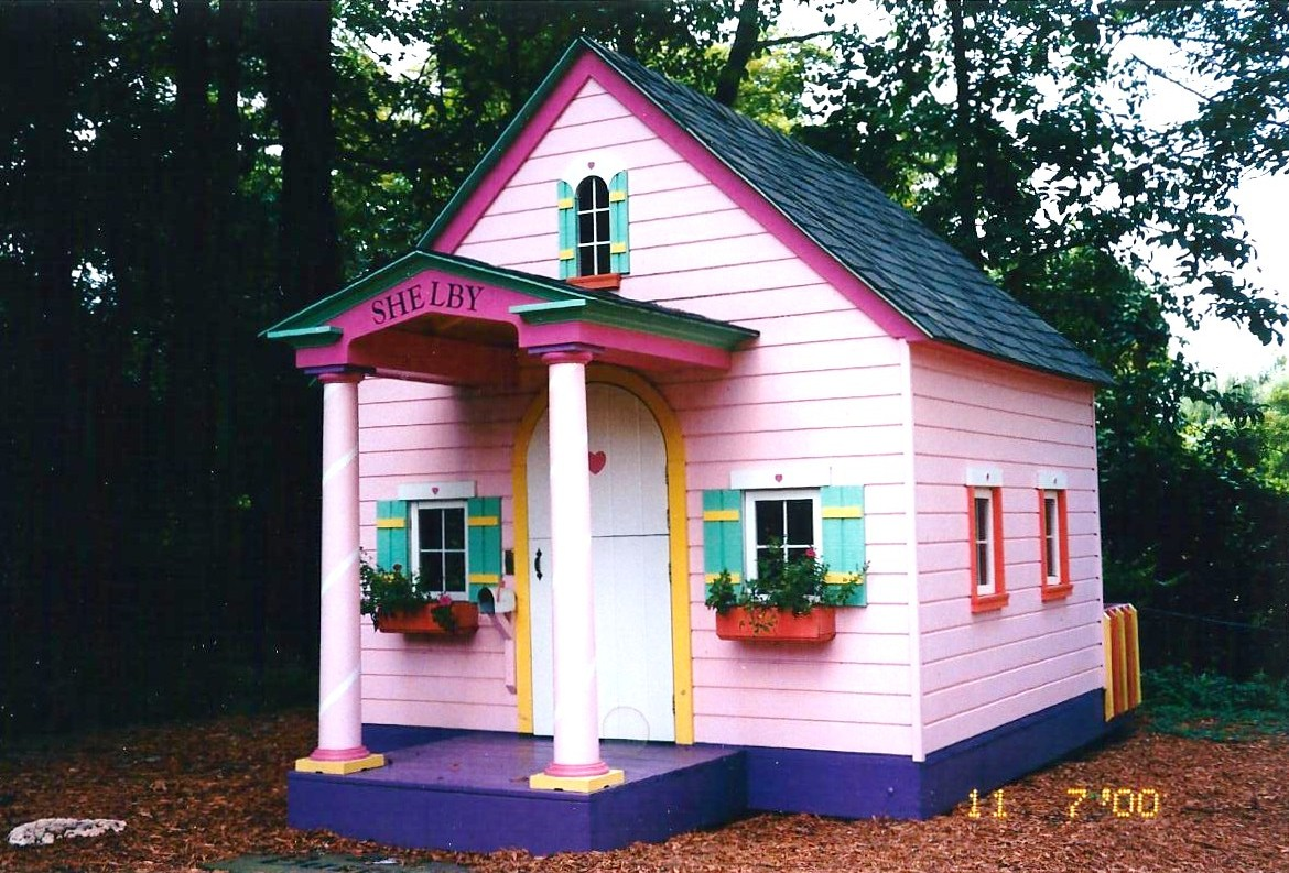 Lilliput play homes custom children 39 s playhouses blog for Whimsical playhouses