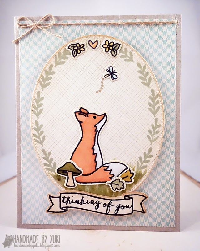 Thinking of You Card by Handmade by Yuki | More Stories by Avery Elle