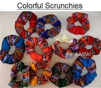 Inka Scrunchies