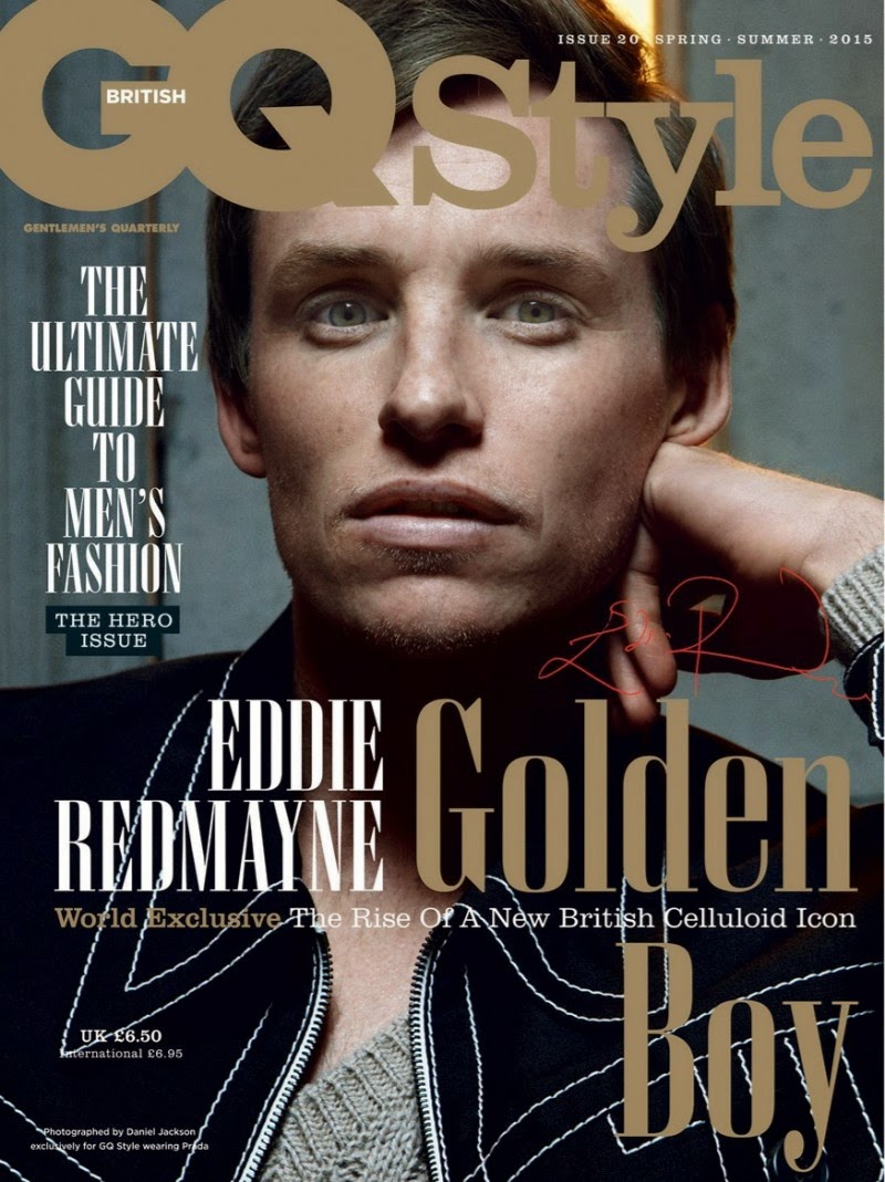 Eddie Redmayne GQ, Eddie Redmayne Oscar, Eddie Redmayne The Theory of Everything