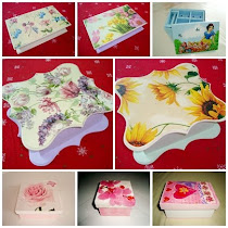 Decoupage em MDF