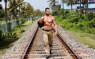 Randeep Hooda Railway track Hot HD Wallpaper from Jism 2