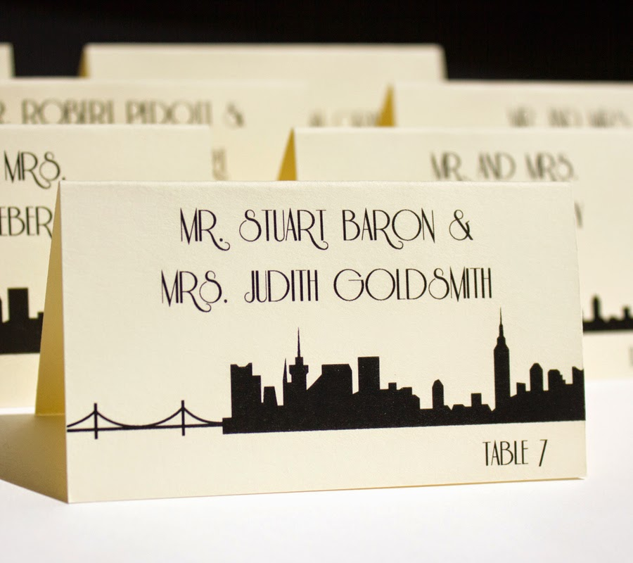 Shanna Michele Designs Product Feature New York City Wedding Theme