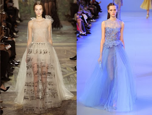 Valentino and Elie Saab