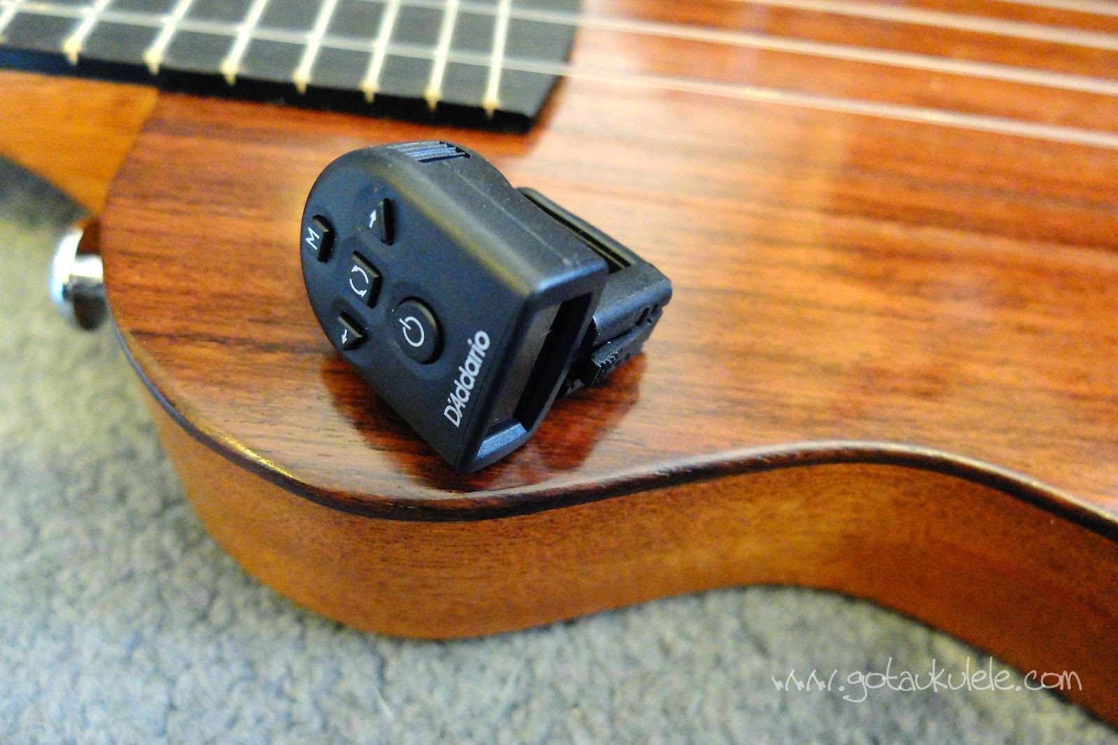 D'Addario Planet Waves Clip On Tuner tiny