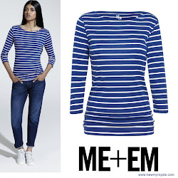 Kate Middleton Style ME+EM Top and SEBAGO Shoes