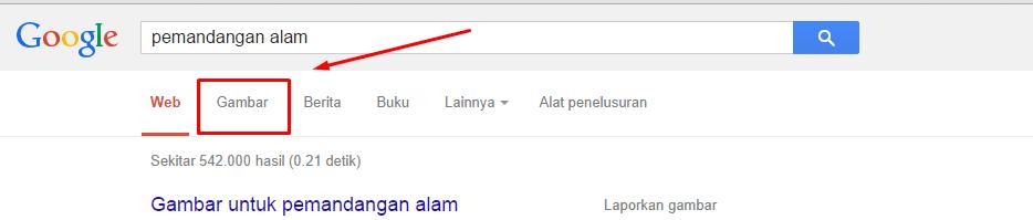 Trik Mencari Gambar/Wallpaper Kualitas HD di Google