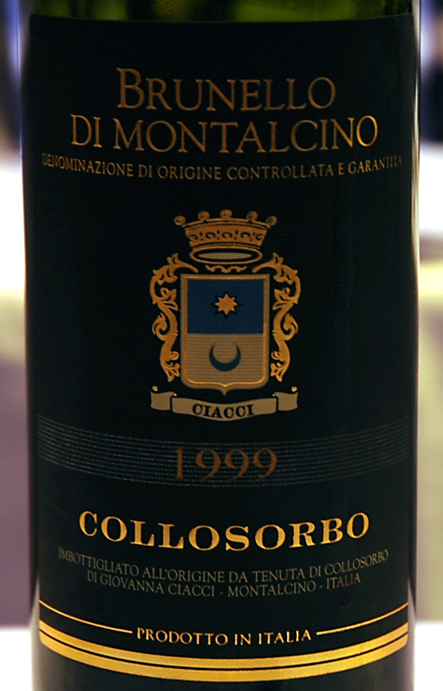 1999 Tenuta Di Collosorbo Brunello Montalcino The Nose Showed Brown Sugar And Herbal Green Stems Palate Came Across Soft Velvety Yet With
