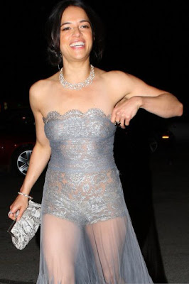 Michelle Rodriguez ready to show all