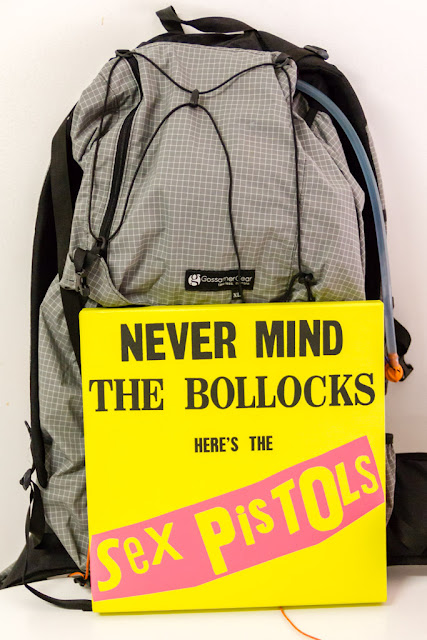 2012 gossamer gear mariposa backpack and never mind the bollocks sex pistols box set
