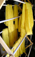 yarn dyed with bindweed
