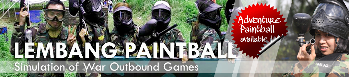WELCOME to PAINTBALL LEMBANG BANDUNG Gathering Outbound Outing Cikole