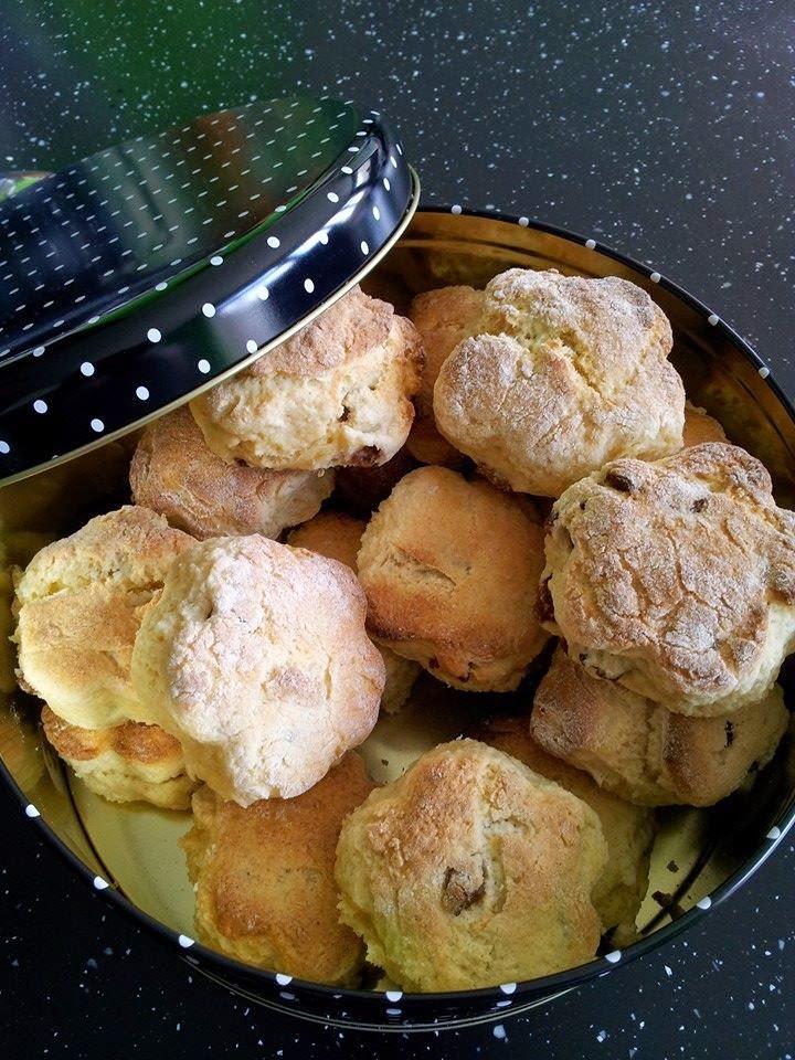 Easter Weekend Bake .....   Sultana Scones