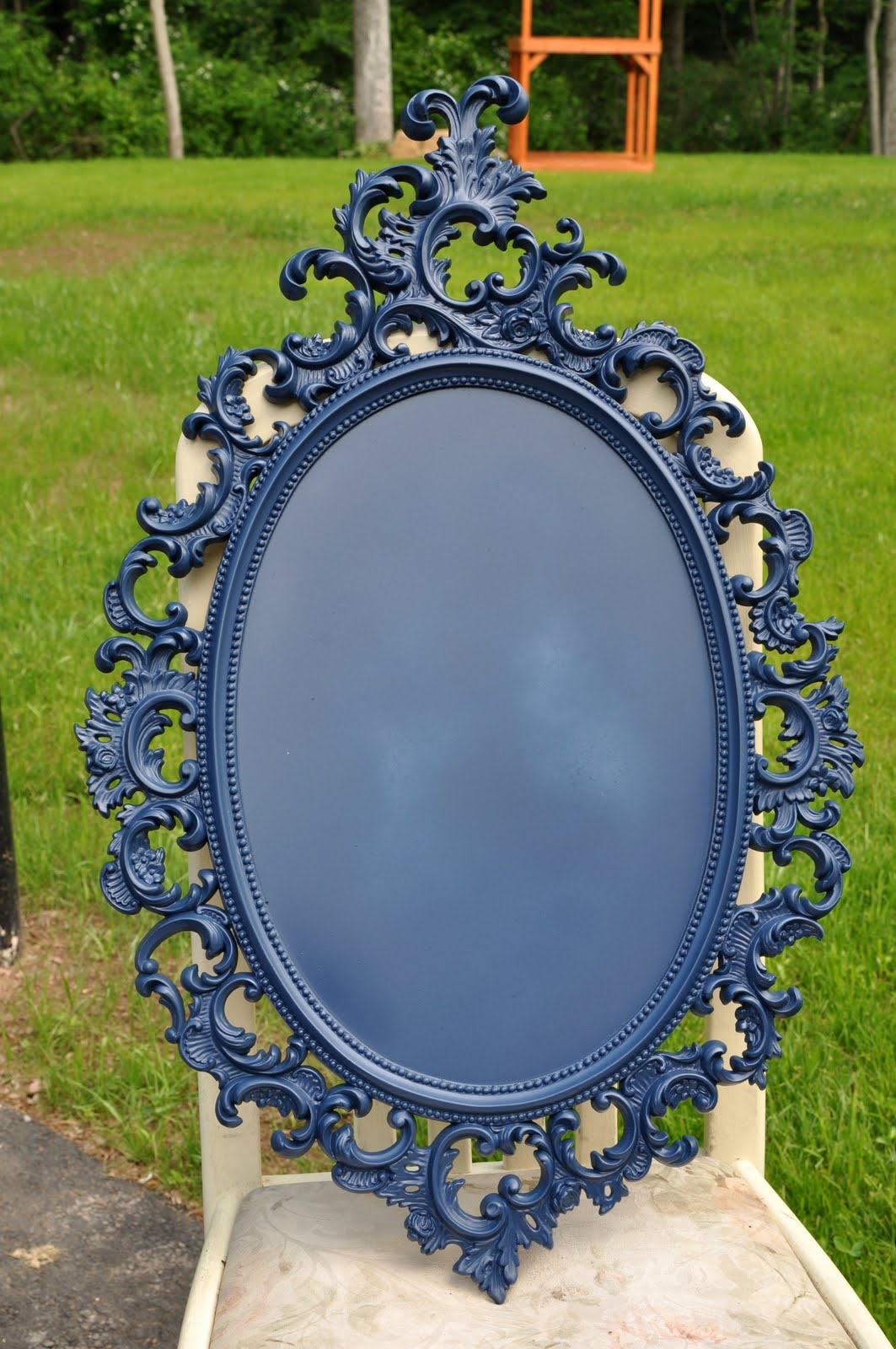 Barn Sale Treasure Diy Chalkboard Mirror East Coast