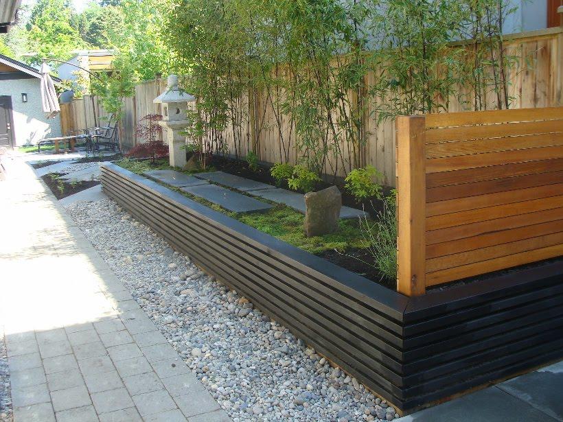 Natural Japanese Modern Landscape Tom Ashizawa Works Modern Japanese Garden Step2