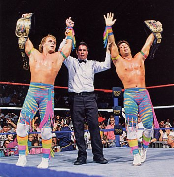 The wrestling fans review the heartbreak kid shawn michaels the rockers shawn michaels and marty jannety are my personal favorite tag team i remember being a kid and watching the rockers take on tag teams like the m4hsunfo
