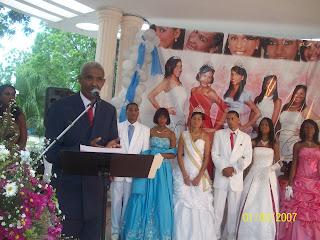 Inician con éxito fiestas patronales Yaguate 2012