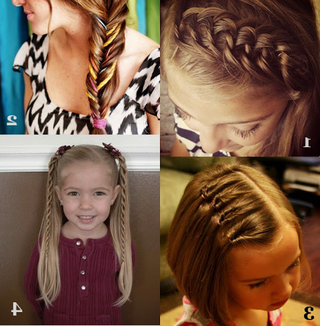 Beautiful Simple Hairstyles For School