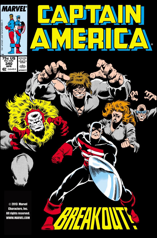Captain America (1968) Issue #340 #270 - English 1