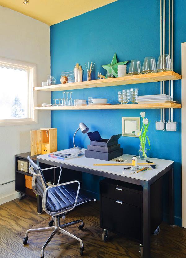 home office, como decorar com cores, decoração turquesa, decoração pink, decoração de casa
