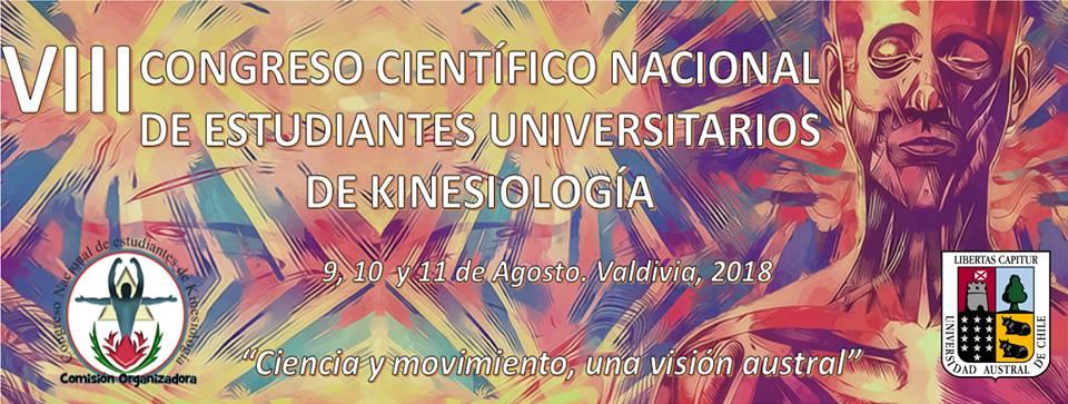 VII Congreso Cientifico Nacional de Estudiantes Universitarios de Kinesiología