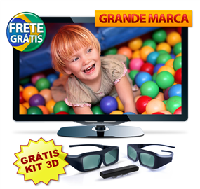 "tv%2B40 TV LED 40"" 3D Full HD c/ conversor Digital, TV Online + Brinde com R$1.100,00 de desconto"