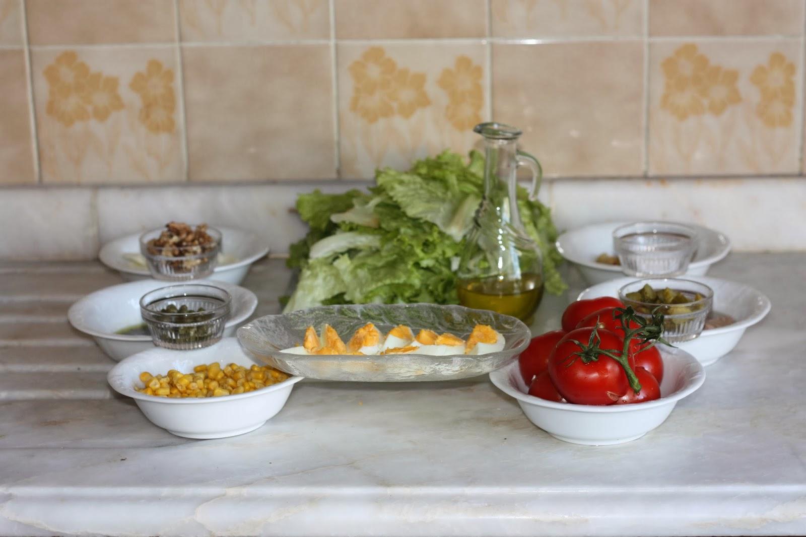 Doğada salatalar nasıl hazırlanır Nasıl başvururum