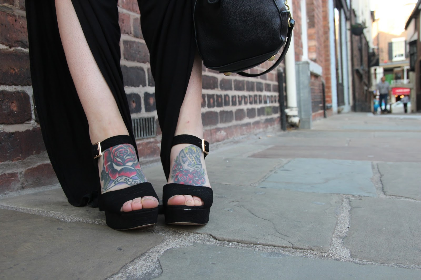 Black Topshop Sandals