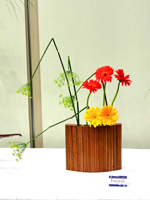 Ikebana Workshop at the Botanic Gardens