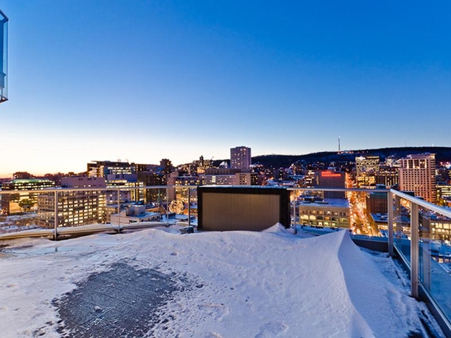 Photo of Montreal from the terrace