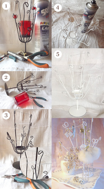 DIY earrings holder in 5 easy steps
