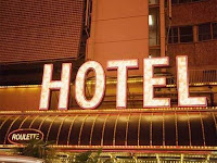 Hotéis: Imagem típica de fachada