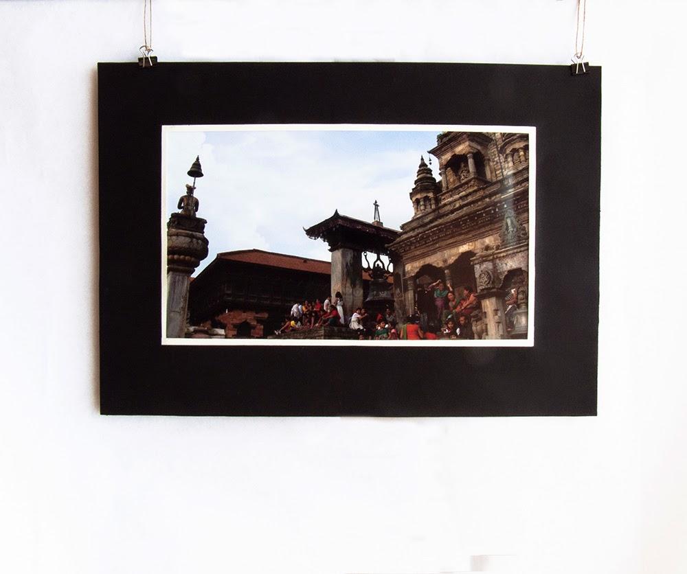 La pizza di Bhaktapur durante la festa del Gai Jatra (Festa della Mucca), Nepal Agosto 2014 Foto di Barbara Bisarello CoCodeStudio