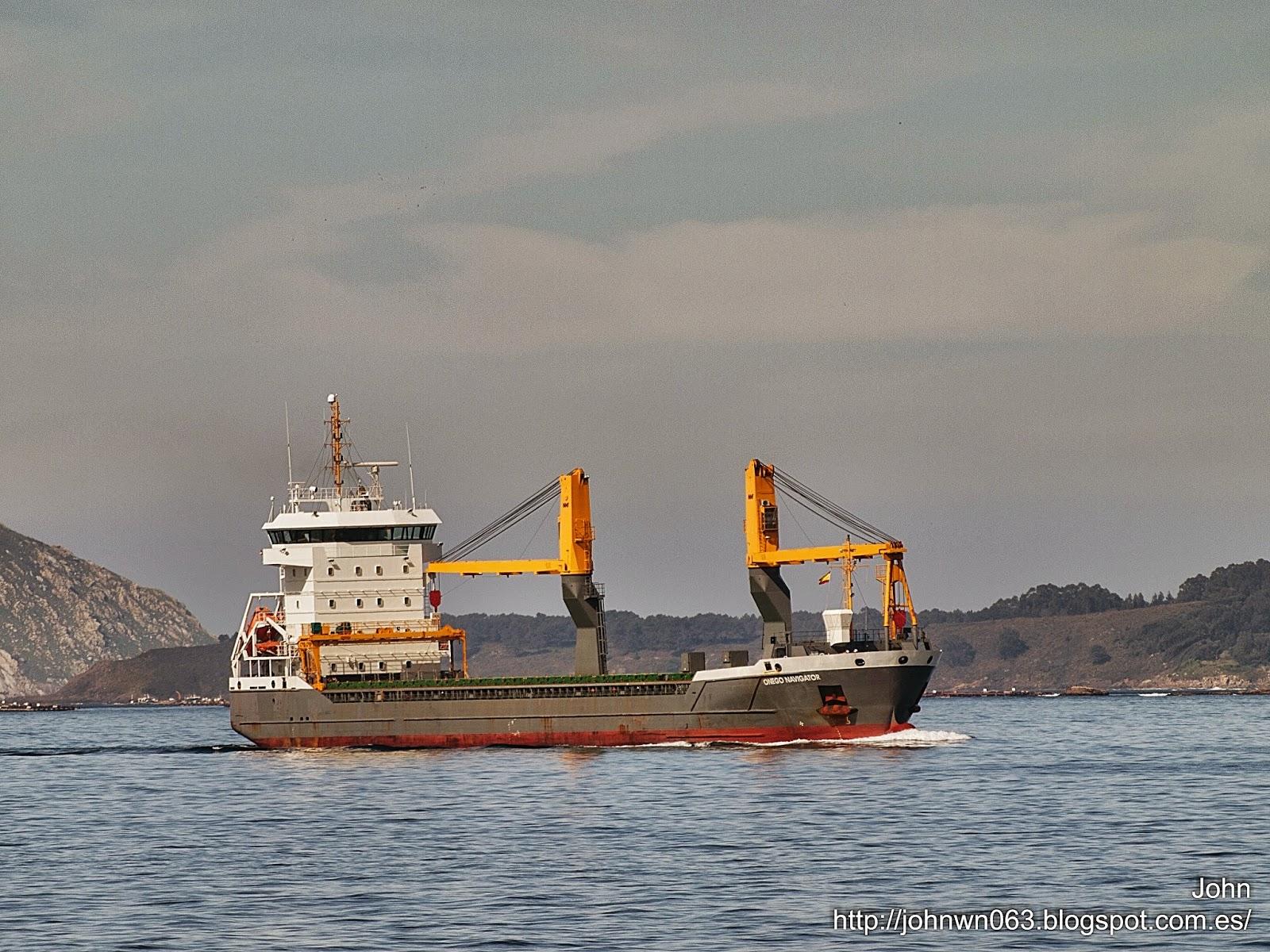 fotos de barcos, imagenes de barcos, onego navigator, carga general, vigo