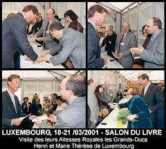 Sallon du Livre -  du 18 au 21 Mars 2001 Festival de l'Immigration et des Cultures - GD Luxembourg