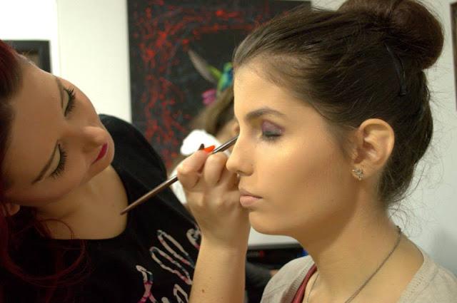 smokey eyes makeup workshop