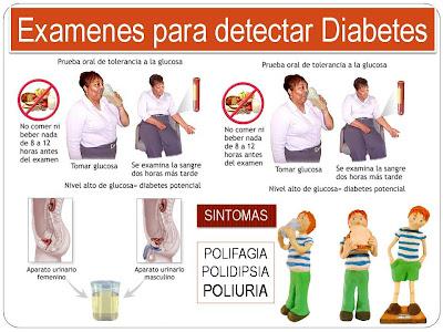 tipos de diabetes y sintomas
