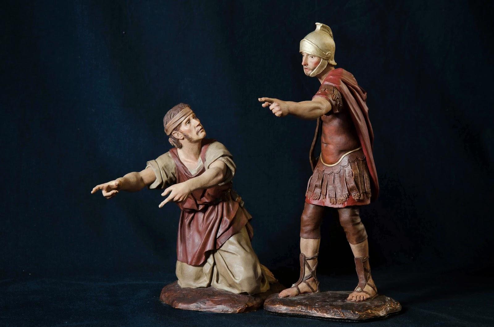 Belén presepe nativity krippe Arturo Serra escultura barro cocido 14