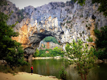 Pont d'Arc, in the Ardèche