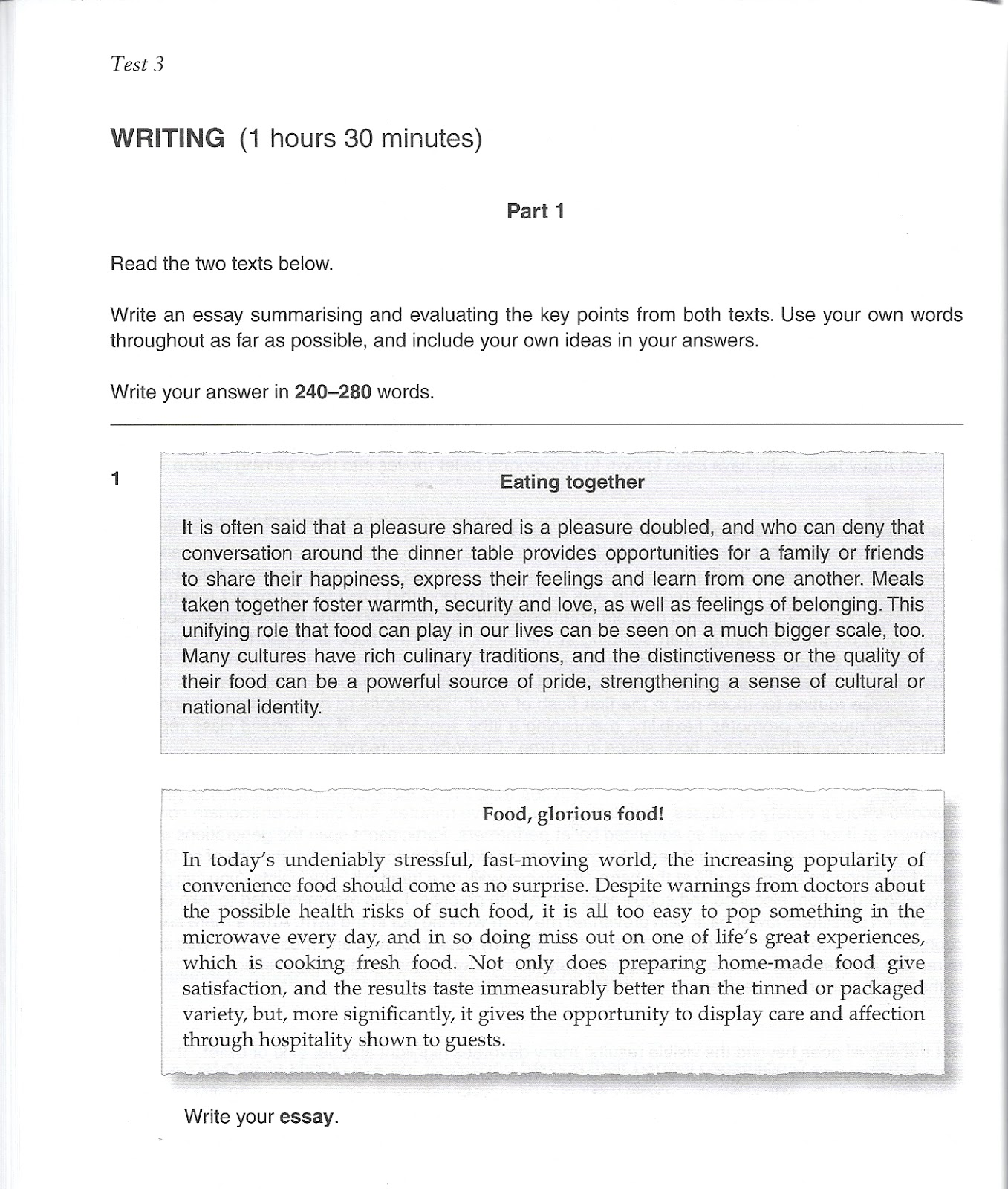 illustration and example essay