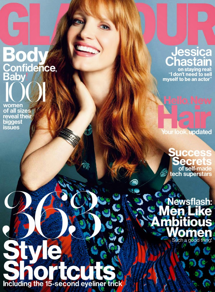 Jessica Chastain - Glamour UK, February 2015