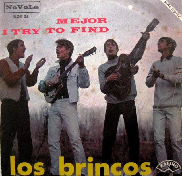 Disco single LOS BRINCOS - Mejor