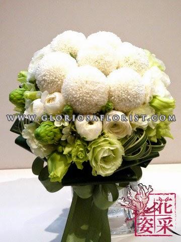 乒乓菊結婚花球 $1280