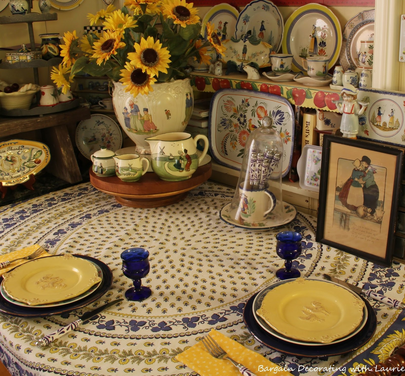 dutch decor plays with french decor - French Decor