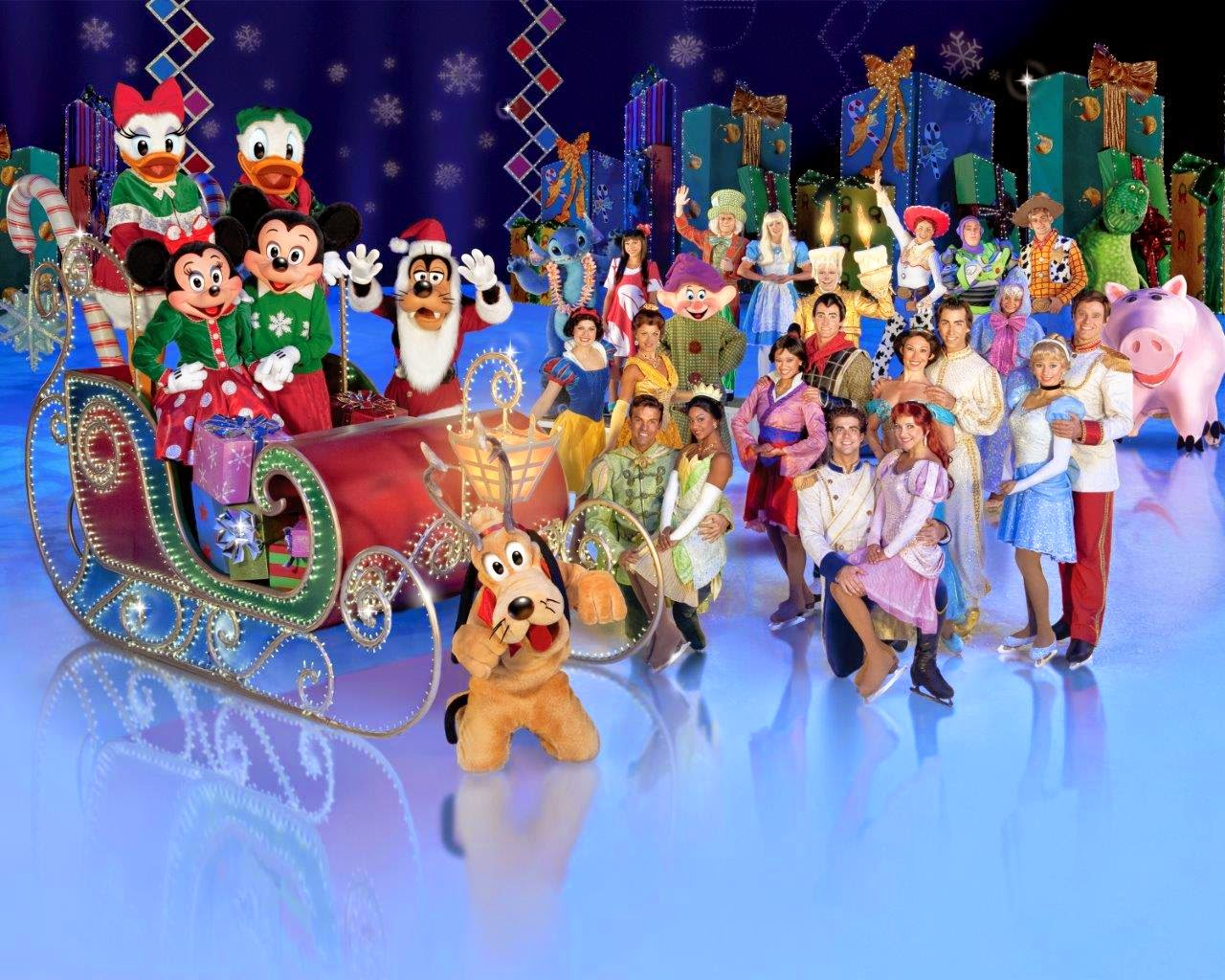 disney on ice lets celebrate