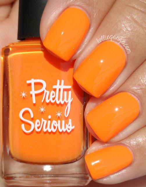 Pretty Serious Cosmetics Pumpkin Head