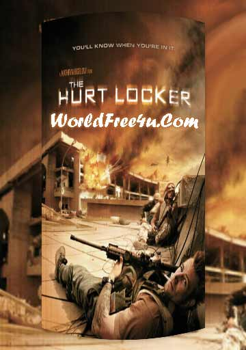 Poster Of The Hurt Locker (2008) Full Movie Hindi Dubbed Free Download Watch Online At worldfree4u.com