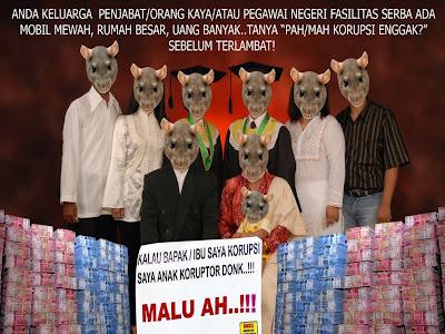 keluarga besar,koruptor,korupsi